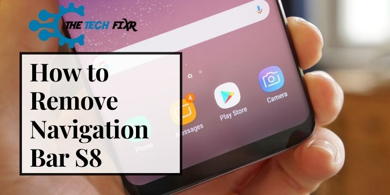 how to remove navigation bar s8