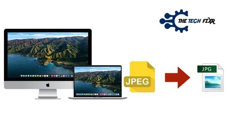 How to Convert JPEG to JPG On Mac