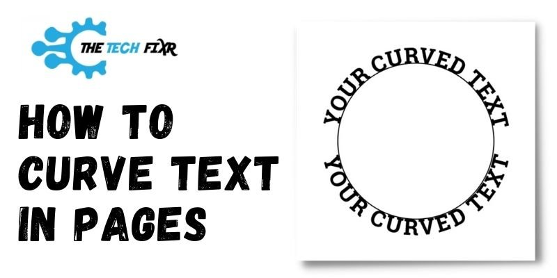 How to Curve Text in Pages