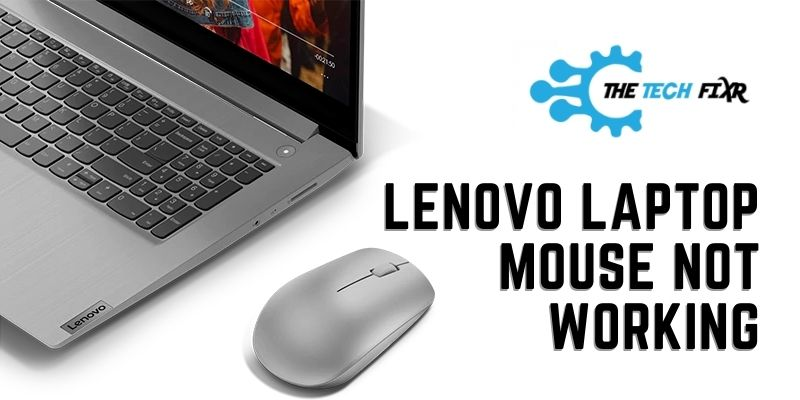 Lenovo Laptop Mouse Not Working