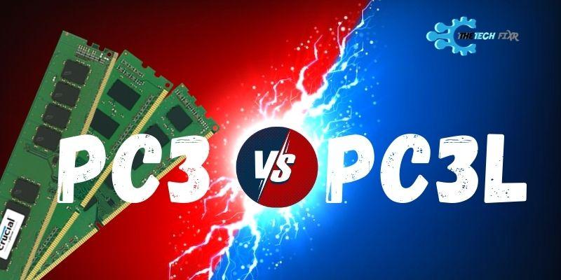 pc3 vs pc3l ram